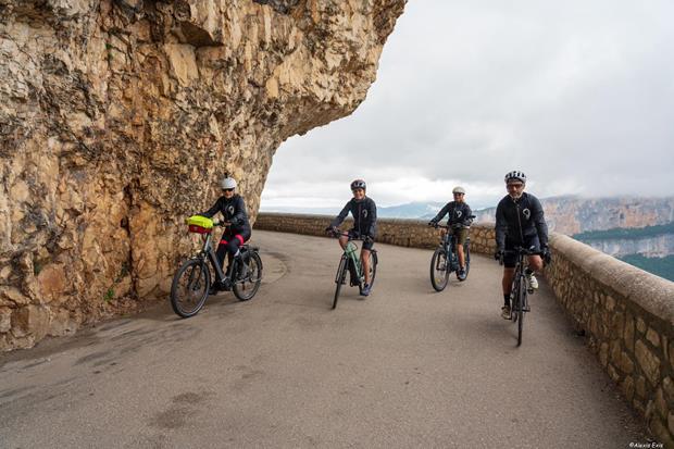 6ème challenge vélo - Départ Annecy